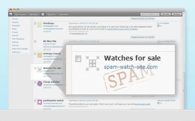 Lees de blog: Akismet houdt de spam weg
