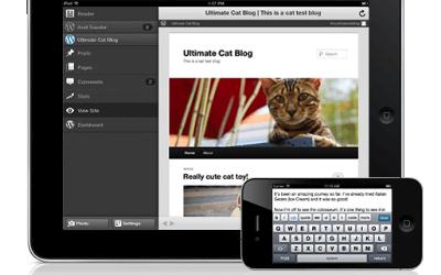 Lees de blog: De WordPress app om je mobiele telefoon