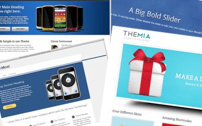 Lees de blog: 8 gratis WordPress themes voor je bedrijf