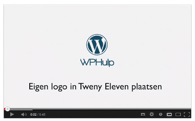 Lees de blog: [video] Logo in header van Twenty Eleven plaatsen