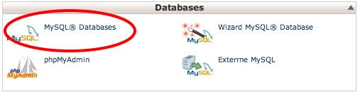 Database aanmaken 1