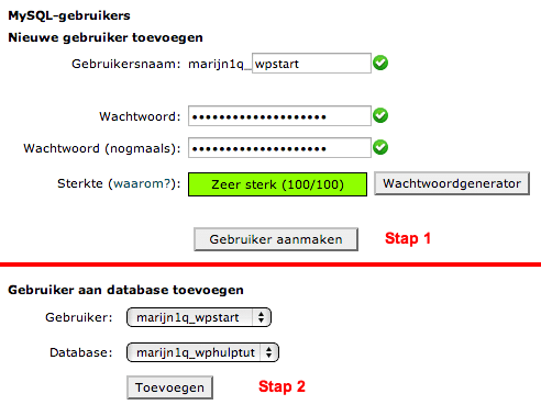 Database aanmaken 3
