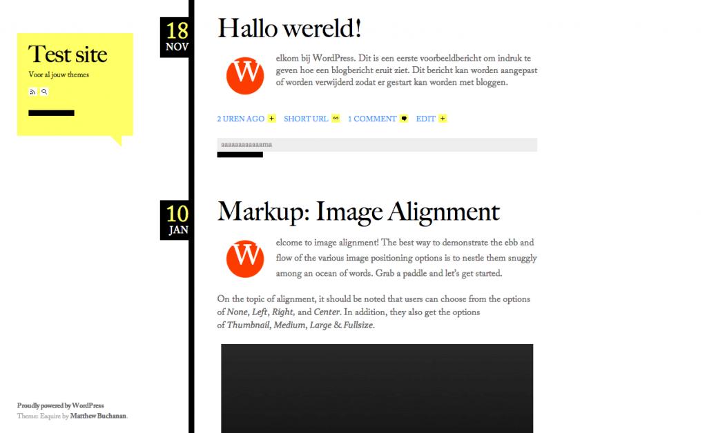 Esquire gratis WordPress themes 2013
