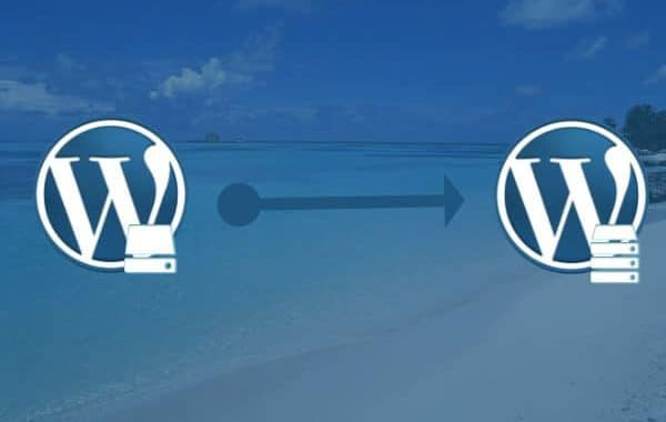 WordPress site verplaatsen naar andere server
