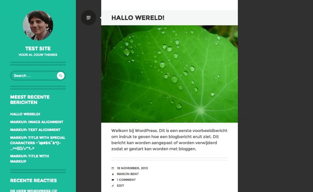 Writr gratis WordPress themes 2013