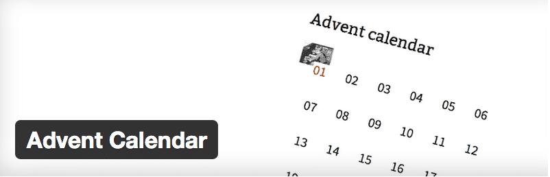 Advent Calender - WordPress winter plugins