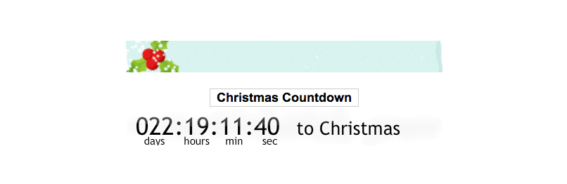 Christmas Countdown WordPress Winter Plugins