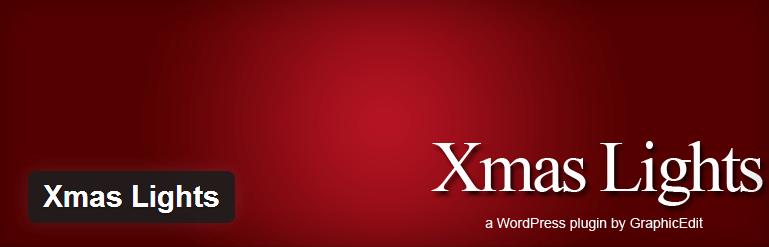 WordPress › Xmas Lights « WordPress Plugins