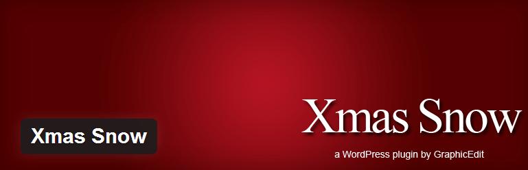 WordPress › Xmas Snow « WordPress Winter Plugins