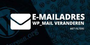 E-mailadres veranderen in WordPress