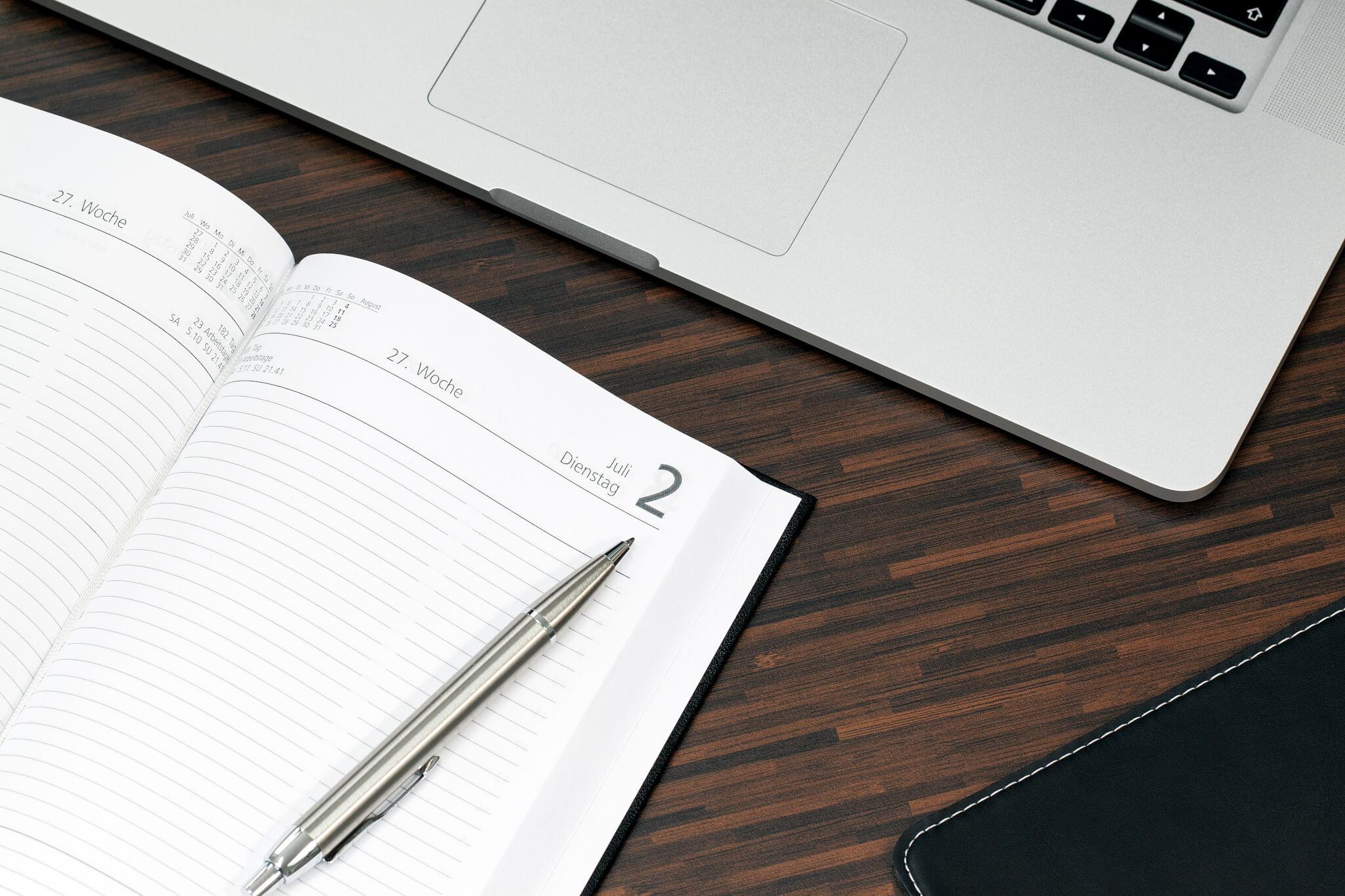 WordPress blog inplannen
